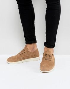 Легкие замшевые кроссовки TOMS Del Rey - Рыжий