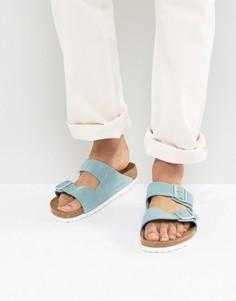 Замшевые сандалии Birkenstock Arizona - Синий