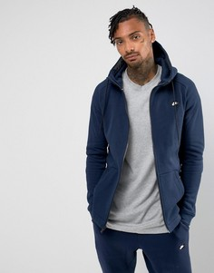 Худи темно-синего цвета на молнии Nike 835858-451 - Темно-синий