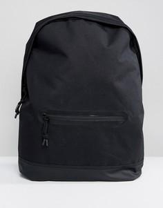 Черный рюкзак с молниями ASOS - Черный