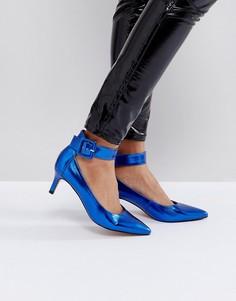 Туфли на каблуке-рюмочка ASOS SOLO - Синий