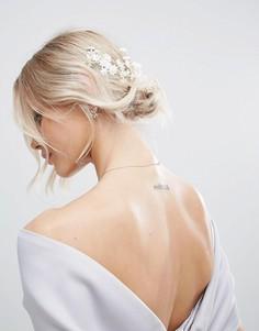 Украшение для волос с цветами ASOS BRIDAL - Белый