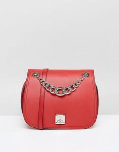 Красная сумка с цепочкой Fiorelli - Красный