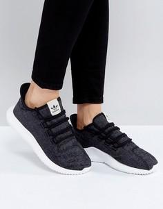 Темно-серые кроссовки adidas Tubular Shadow - Серый