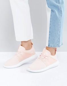 Светло-розовые кроссовки adidas Tubular Viral - Розовый