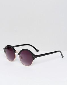 Черные круглые солнцезащитные очки Jeeper Peepers - Черный