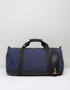 Темно-синяя и черная парусиновая сумка Mi-Pac - Темно-синий