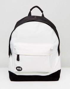 Монохромный классический рюкзак Mi-Pac - Белый