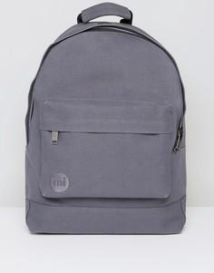 Темно-серый парусиновый рюкзак Mi-Pac - Серый