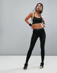 Черные леггинсы adidas Training - Черный