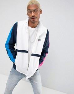 Белая спортивная куртка Reebok Retro Vector BR0150 - Темно-синий
