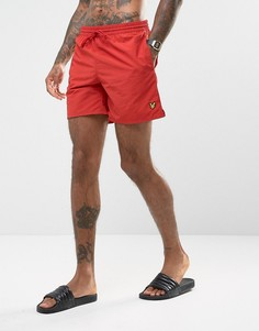 Красные шорты для плавания Lyle & Scott - Красный