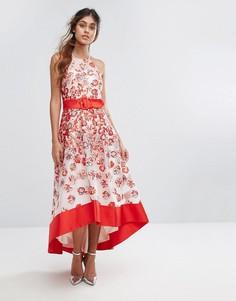 Платье из органзы Coast - Красный