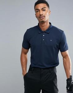 Поло Calvin Klein Golf - Темно-синий