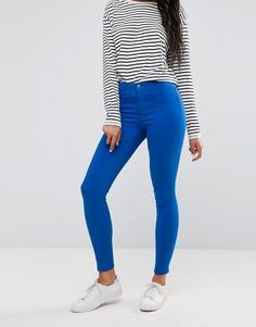 Синие джинсы скинни Pieces - Синий