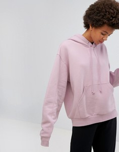 Oversize-худи Weekday - Розовый