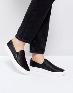 Черные кроссовки-слипоны Faith - Черный