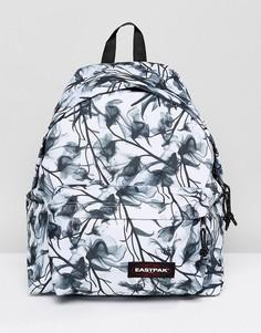 Черно-белый рюкзак с цветочным принтом Eastpak Pak R - Мульти