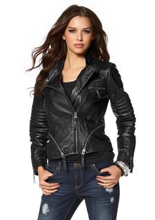 Кожаная куртка Laura Scott