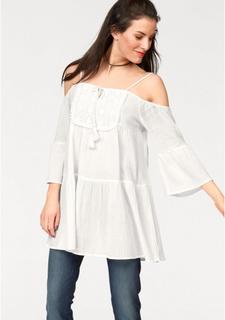 Удлиненная блузка Aniston