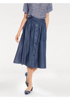 Джинсовая юбка Rick Cardona
