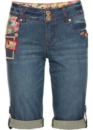 Джинсовые шорты (синий «потертый»)