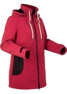 Куртка-софтшелл стретч (темно-красный) Bonprix
