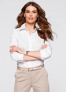 Классическая блузка (белый) Bonprix