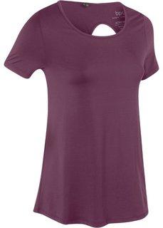 Спортивная футболка (цвет бузины) Bonprix