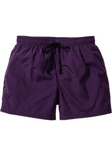 Купальные плавки-шорты Regular Fit (темно-лиловый) Bonprix
