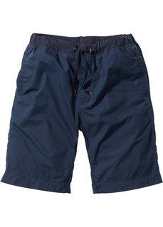 Бермуды Regular Fit на удобном поясе (темно-синий) Bonprix