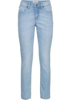 Стрейчевые джинсы с разрезом, cредний рост (N) (нежно-голубой) Bonprix