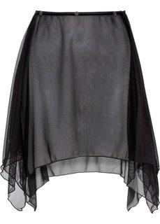 Пристегивающаяся юбка (черный) Bonprix