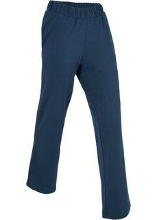 Широкие спортивные брюки (темно-синий) Bonprix