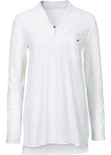 Удлиненная блузка (красный) Bonprix
