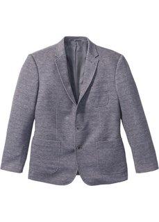 Трикотажный пиджак Regular Fit (серый меланж) Bonprix