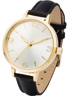 Наручные часы (черный/золотистый) Bonprix