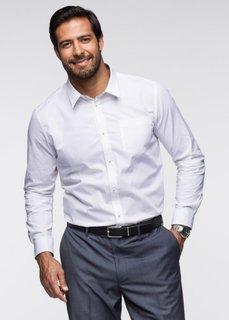 Мужская рубашка Regular Fit (темно-синий) Bonprix