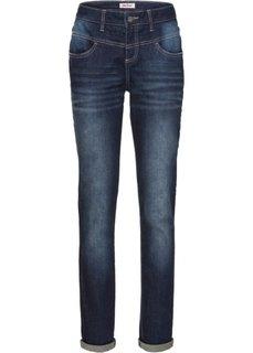 Классические стрейчевые джинсы, cредний рост (N) (темно-синий) Bonprix