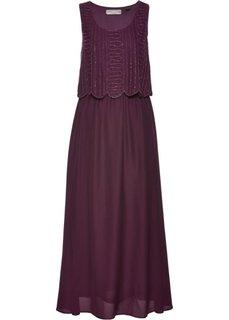 Вечернее платье (бузиничный) Bonprix