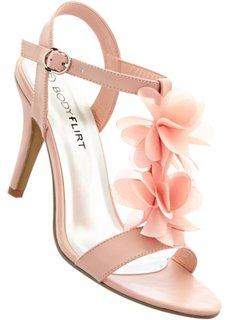 Босоножки (нежно-розовый) Bonprix