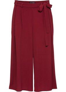 Юбка-шорты (красный каштан) Bonprix