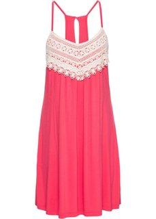 Летнее платье (красный) Bonprix