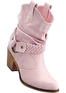 Ковбойские сапоги (розовый) Bonprix