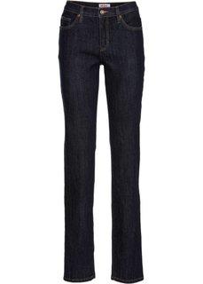 Удобные джинсы-стретч CLASSIC, низкий рост (K) (темно-синий) Bonprix