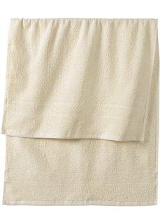 Полотенце для рук Нью Уни Делюкс (кремовый) Bonprix