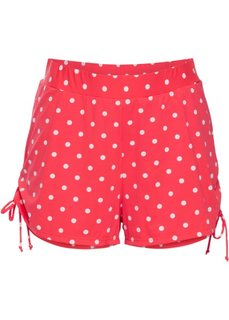 Быстросохнущие купальные шорты с плавками внутри (красный/белый в горошек) Bonprix
