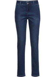Очень нежные джинсы-бойфренды с шелковистым блеском, cредний рост (N) (синий) Bonprix