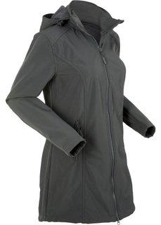 Куртка-парка софтшелл (шиферно-серый) Bonprix
