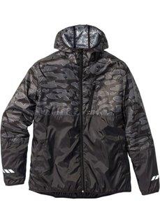 Куртка для бега Regular Fit (черный) Bonprix